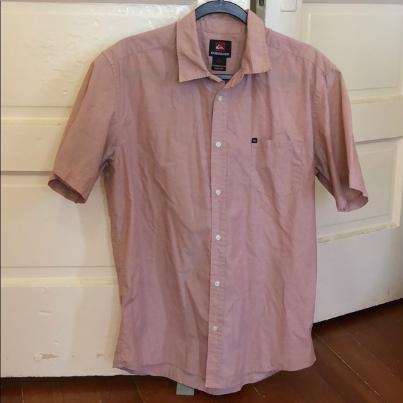 Lightly work pink Quicksilver button down